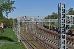 La beauté du chemin de fer Image stock