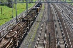 La beauté du chemin de fer Images stock