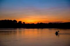 La beauté du coucher du soleil photographie stock libre de droits