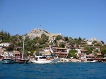 La beauté du méditerranéen Photo stock