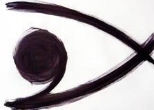 La beauté fascinante du mouvement dans la structure d'oeil photos libres de droits