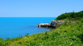 La beauté naturelle de Tsarevo Photo libre de droits
