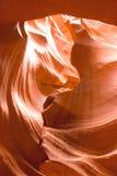 La beauté normale des gorges d'antilope d'Arizonas Photographie stock