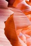 La beauté normale des gorges d'antilope d'Arizonas Images libres de droits
