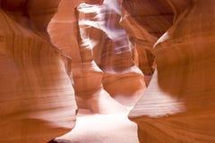 La beauté normale des gorges d'antilope d'Arizonas Photos stock