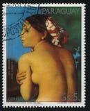 La beauté se baignante par Ingres Photos stock