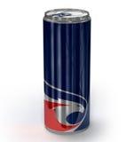 La bebida de la energía puede Foto de archivo libre de regalías