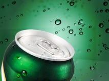 La bebida fría puede fotografía de archivo