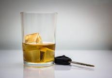La bebida no conduce Imagenes de archivo