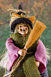La befana. The traditional witch's costume for the epiphany holiday Royalty Free Stock Photos