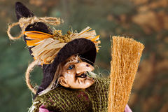 La befana. The traditional witch's costume for the epiphany holiday Stock Images
