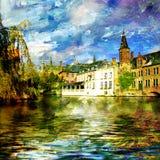 La Belgique Image libre de droits