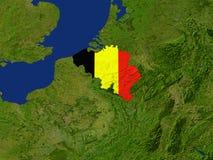 la Belgique Photo stock