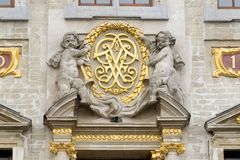 La Belgique Bruxelles Grand Place ou le Grote Markt est à angle droit central de Bruxelles Il est entouré par les palais de corpo photo libre de droits