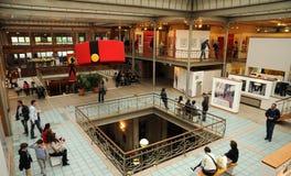 La Belgique, musée pittoresque de présentation horizontale sur microfilm de Bruxelles Photo stock