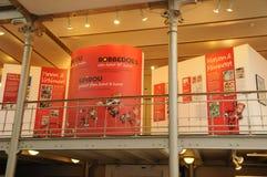 La Belgique, musée pittoresque de présentation horizontale sur microfilm de Bruxelles Images libres de droits