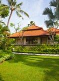 La bella casa nella giungla fotografia stock libera da diritti