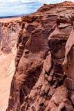 La bella curvatura a ferro di cavallo in Arizona Fotografia Stock Libera da Diritti