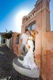 La bella donna delle giovani coppie adorabili dall'uomo bello concernente il bello Fotografia Stock Libera da Diritti
