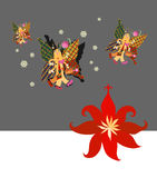 La bella farfalla vola ai climi più caldi Immagine Stock Libera da Diritti