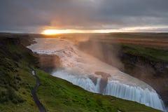La bella Islanda Fotografia Stock Libera da Diritti