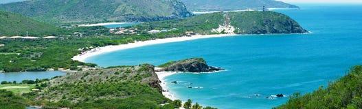 La bella isola dei Caraibi Fotografia Stock Libera da Diritti