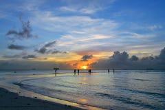 La bella isola di Saipan Immagini Stock Libere da Diritti