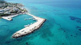 La bella isola Grecia Alldaycruise di Poros Fotografia Stock Libera da Diritti