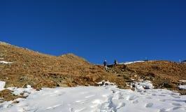 La bella montagna in Svizzera Immagine Stock