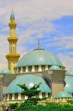 La bella moschea di Wilayah Persekutuan Immagine Stock