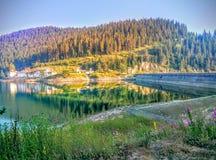 La bella natura della Bulgaria Fotografia Stock