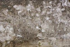 La bella parete sporca dello stucco da qualche parte ha cad da da un pozzo di chipp Fotografia Stock Libera da Diritti
