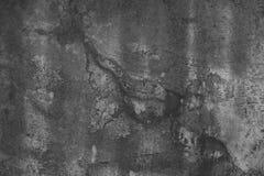 La bella parete sporca dello stucco da qualche parte ha cad da da un pozzo di chipp Immagini Stock Libere da Diritti