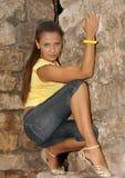 La bella ragazza Fotografie Stock