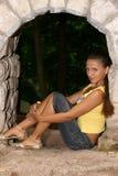 La bella ragazza Immagini Stock Libere da Diritti