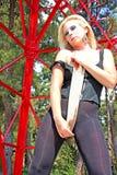 La bella ragazza Fotografia Stock
