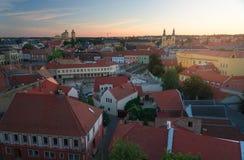 La bella regione del vino di Eger in Ungheria immagini stock