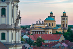 La bella regione del vino di Eger in Ungheria immagine stock libera da diritti