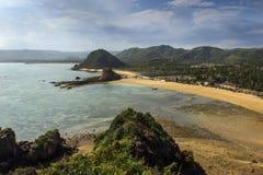 La bella spiaggia Fotografia Stock