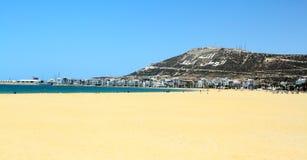 La bella spiaggia Immagini Stock Libere da Diritti