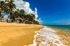 La bella spiaggia Immagine Stock Libera da Diritti