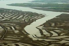 La bella spiaggia in Cina Immagini Stock Libere da Diritti