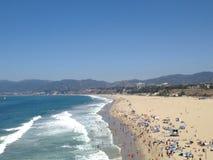 La bella spiaggia di California Immagini Stock Libere da Diritti