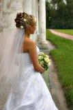 La bella sposa fotografia stock