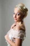 La bella sposa Immagini Stock