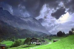 La bella Svizzera Fotografia Stock Libera da Diritti