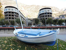 La Bella van Andorra Stock Foto's