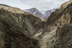 La bella vista aerea di alluna, backgroun himalayano della montagna Fotografia Stock