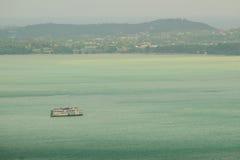 La bella vista da Khao-Khad osserva la torre, turisti può godere del Th Fotografie Stock