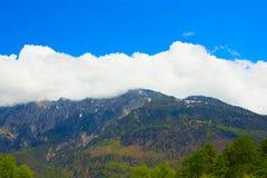 La bella vista delle alpi svizzere Fotografie Stock